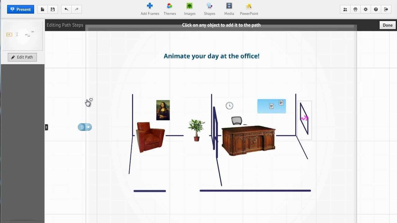 animations in prezi