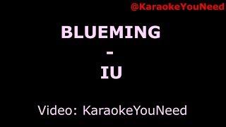 [Karaoke] Blueming - IU