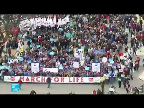ترامب..أول رئيس أمريكي يشارك في المسيرة السنوية ضد الإجهاض  - 16:01-2020 / 1 / 24