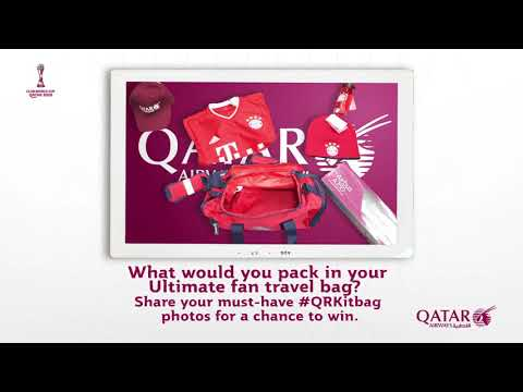 Your FIFA Club World Cup Travel Bag | Qatar Airways