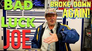 Joe's AllStar Tools: Broke Down Again 🤬 Tool Man Walking!