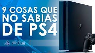 9 cosas que NO sabías de PS4