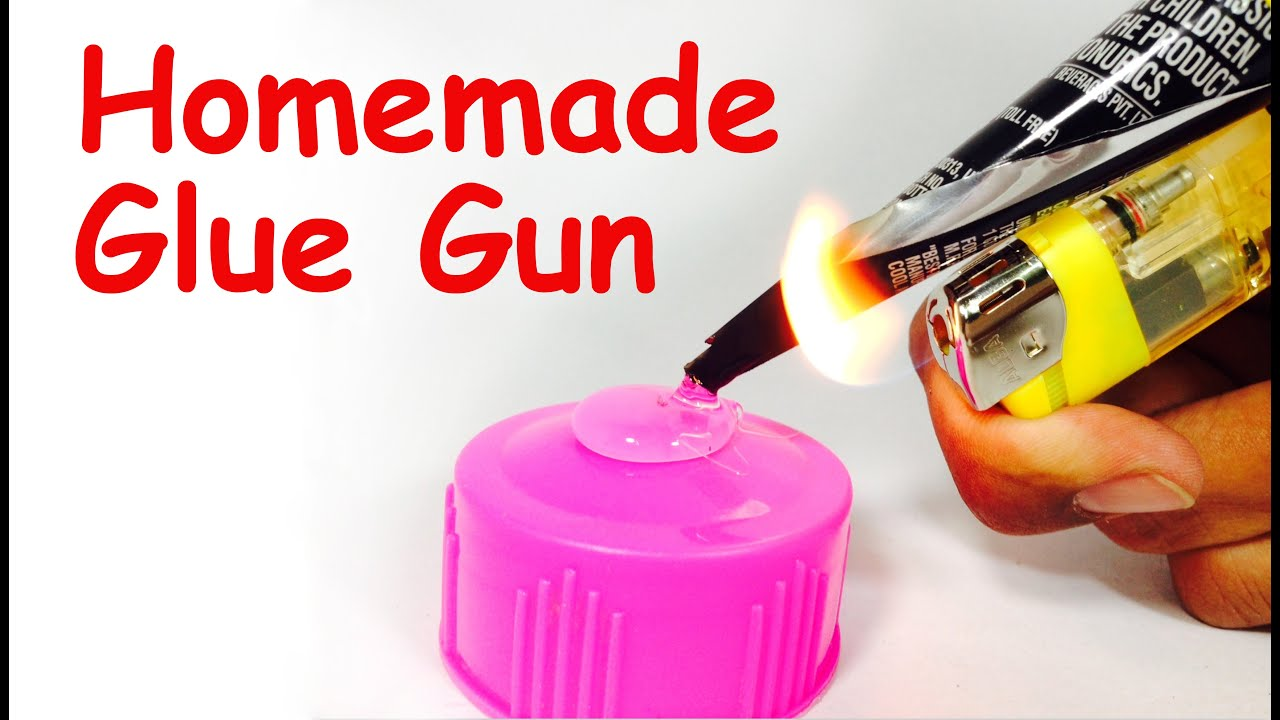 How To Make Hot Glue Gun At Home Diy Easy Youtube