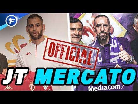 OFFICIEL : Ribéry A Trouvé Preneur, Islam Slimani S'engage Avec Monaco   Journal Du Mercato
