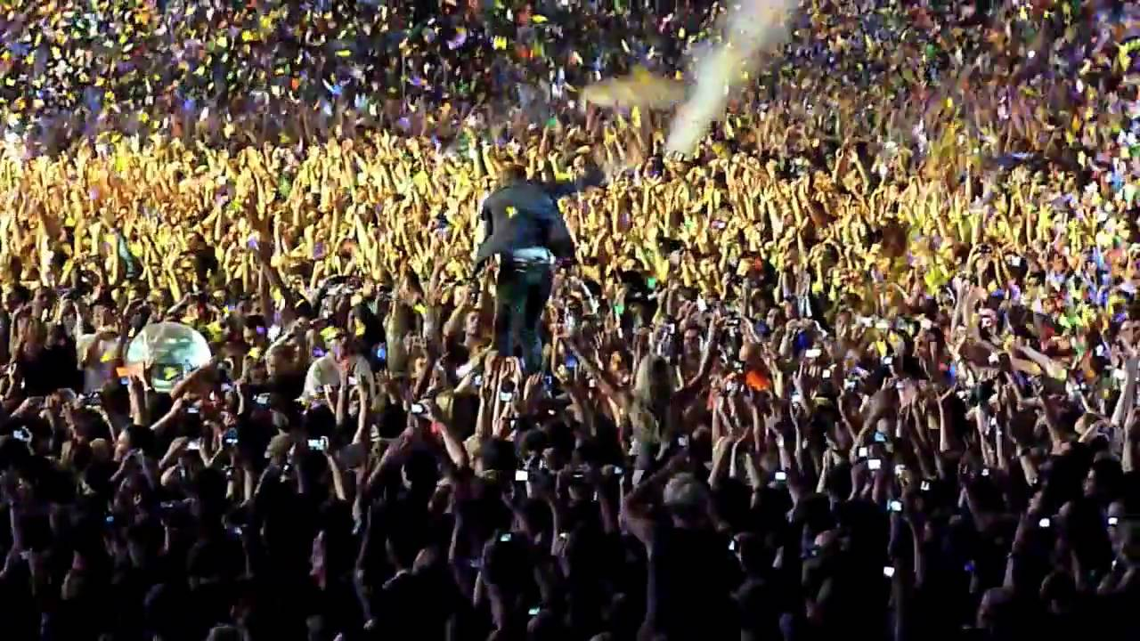 Download Coldplay Live - Lovers In Japan, Wembley Stadium [HD]
