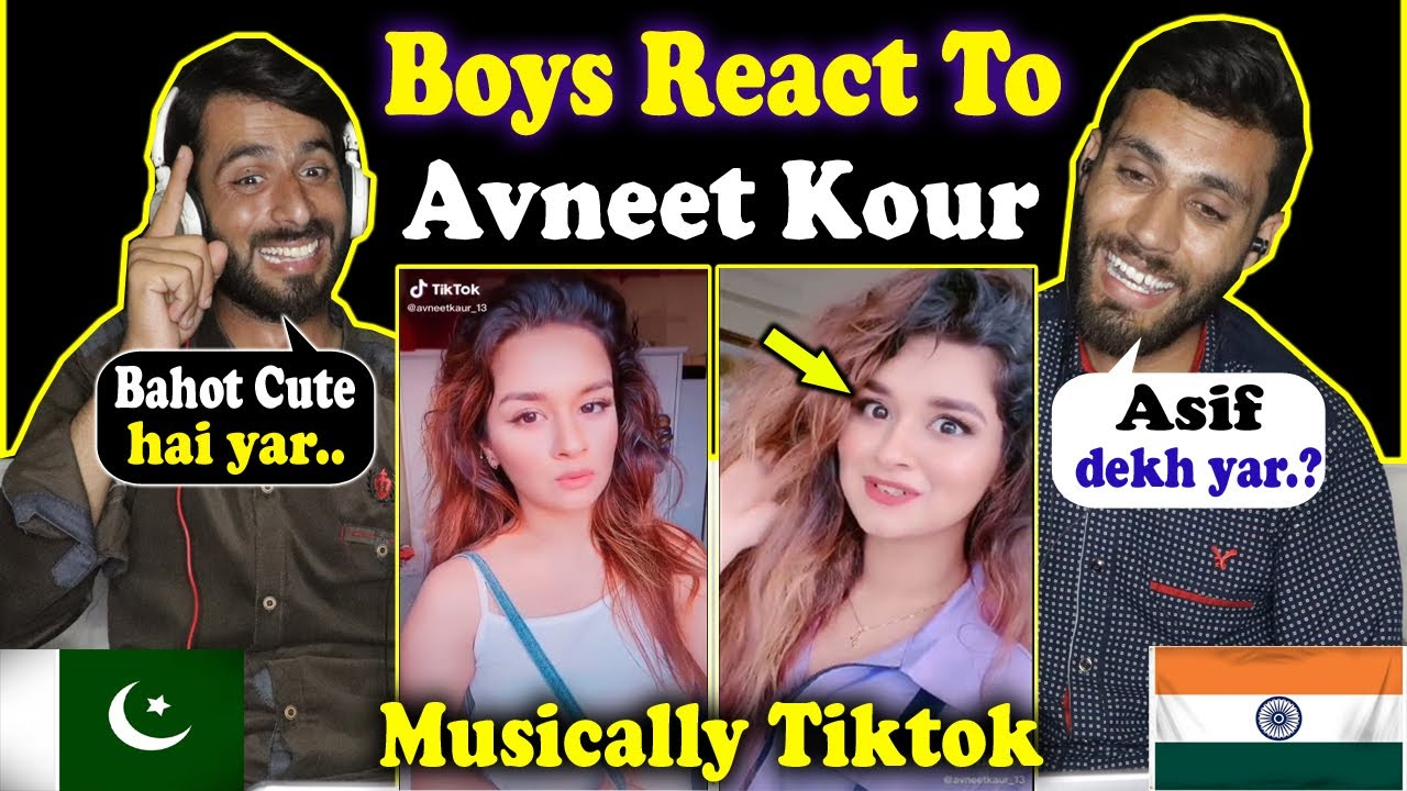 Reaction on Avneet Kaur New Tik Tok Videos | Avneet Kaur | Tiktok Reaction | Latest Tiktok Reaction