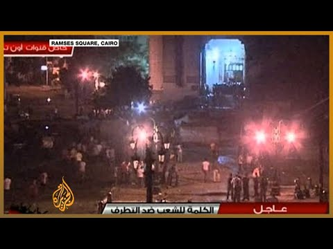 Witness from inside Cairo mosque speaks to Al Jazeera