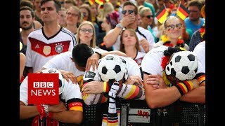 Fans react to Germany's World Cup exit - BBC News