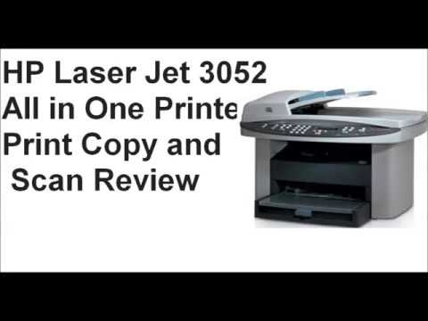 HP LASERJET 3052 ALL IN ONE PRINTER TREIBER HERUNTERLADEN