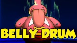 UNBELIEVABLE Z-Belly Drum Team in Pokemon Sun and Moon!