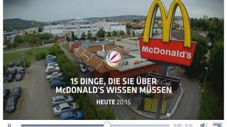 SAT 1 – 15 Dinge über McDonalds – Nur die halbe Wahrheit?