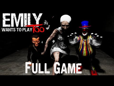 Emily Wants to Play Too Full Game & ENDING Gameplay Playthrough (No Commentary)