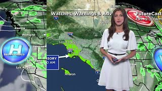 CBSLA Morning Weather Brief (July 13)