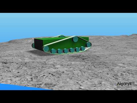 Tracked vehicle tutorial in AGX Dynamics
