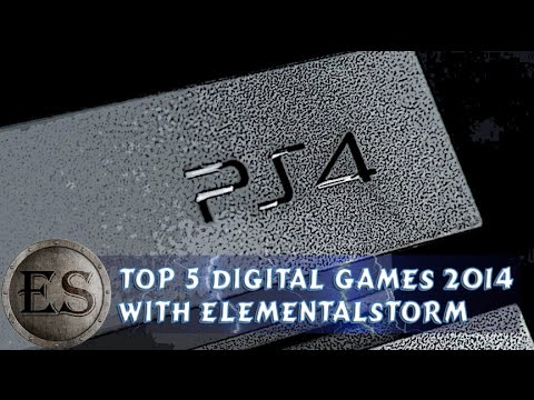Top 5 PS4 Digital Games of 2014 (Gameplay/Info/PS4)