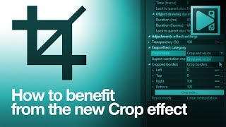 How to use tнe new Crop effect in VSDC Free Video Editor