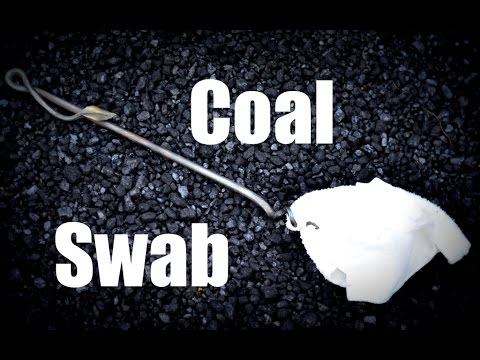 Coal Swab VS Dipper Can for Maintaining A Coal Forge Fire