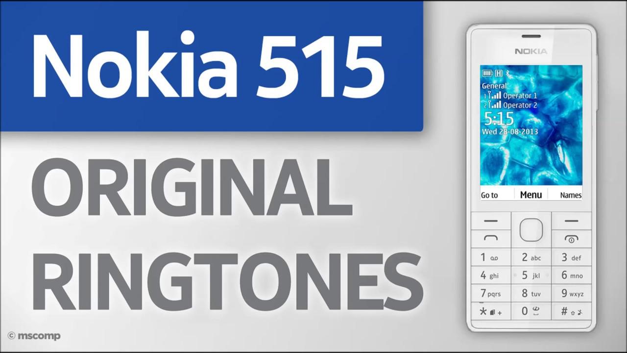 Nokia 515 Ringtones (Original)