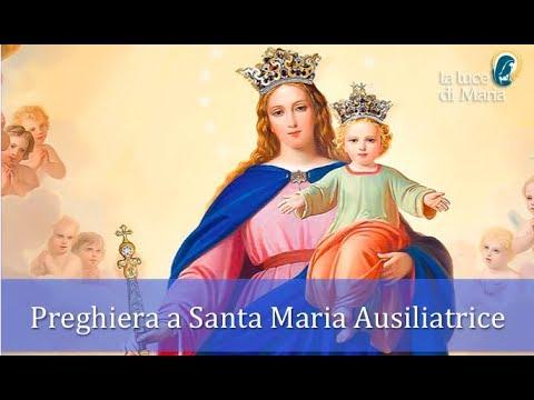 Preghiera di affidamento alla Beata Vergine Maria Ausiliatrice