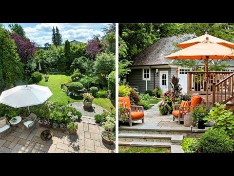 Красивый и Изящный ландшафт двора своими руками 65 идей
