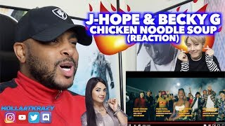 J-HOPE & BECKY G - CHICKEN NOODLE SOUP | THIS WAS SOOOOOO GOOD | REACTION