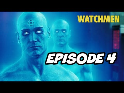Watchmen Episode 4 HBO - TOP 10 WTF and Easter Eggs