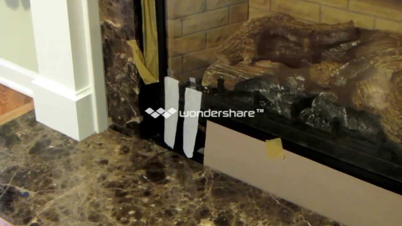 Fireplace Draft # 0079 ( Mp4 ) With Vent Taped - YouTube