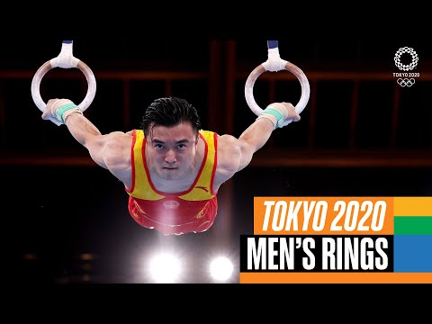 Liu Yang's 🇨🇳 Winning Rings routine   Tokyo Replays