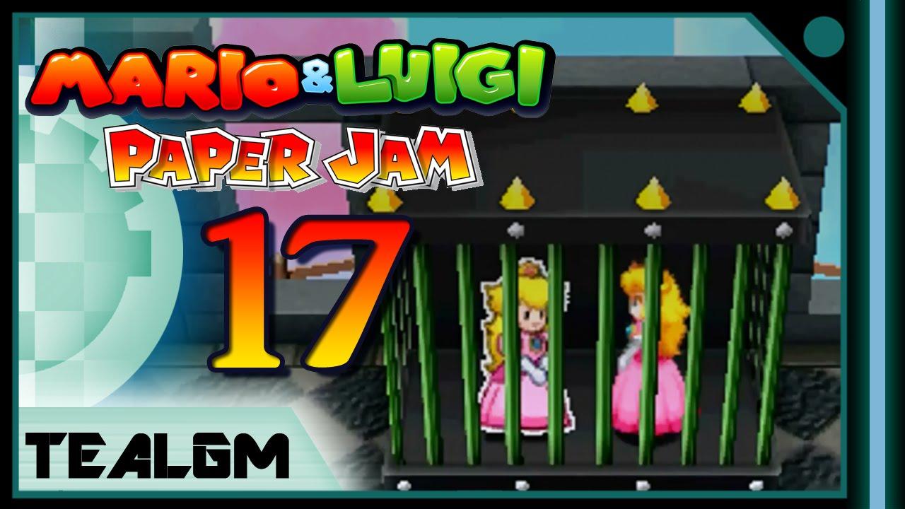 Mario Luigi Paper Jam Bros Part 17 The Princesses Gossip