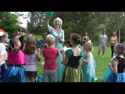 Frozen Deluxe 2 hour Party Example
