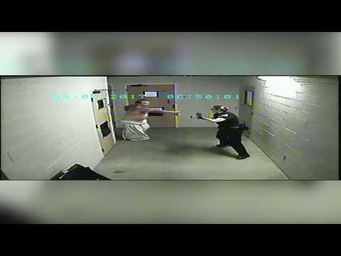 Thumbnail: Florence jail inmate attacks officers while being released from custody