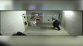 Florence jail inmate attacks officers while being released from custody