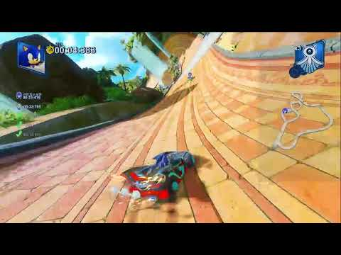 [PS4]팀 소닉 레이싱 친구와 멀티플레이 (PS4 team sonic racing team multi play
