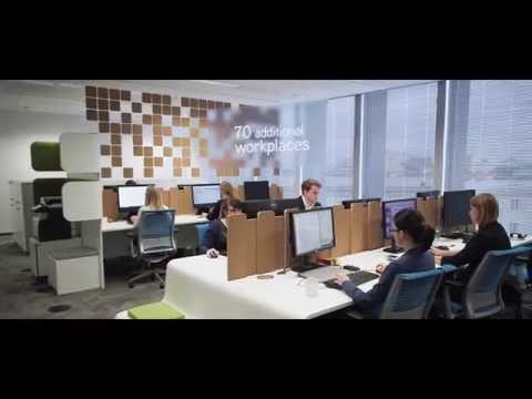 Colliers International office | Flexible workplace