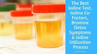 The Best Iodine Test, Iodine Co-Factors, Bromine Detox Symptoms & Iodine Utilization Process