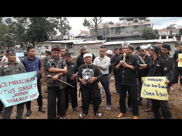 """Rusak Situs Cagar Budaya Nasional """"Situs Sumur Tujuh"""", Ketua Dewan Kesenian Kota Bogor Angkat Bicara"""