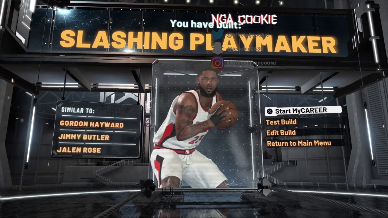 HOW TO MAKE THE BEST SMALL FORWARD BUILD IN 2K20!! BEST SLASHING PLAYMAKER EVER MADE!!!