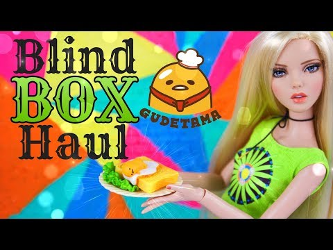 Unbox Daily:  GUDETAMA The Lazy Egg by Re - Ment Blind Box Haul