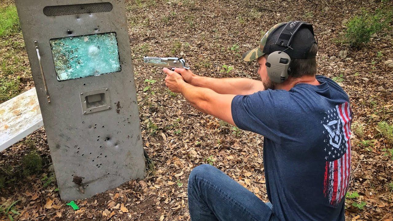 armored-bank-truck-door-vs-bullets-demo-ranch