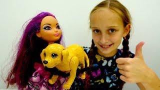 Мультики #ЭверАфтерХай: Браэр выбирает себе питомца в ЗООМАГАЗИНЕ! 🐶 Игры куклы для девочек