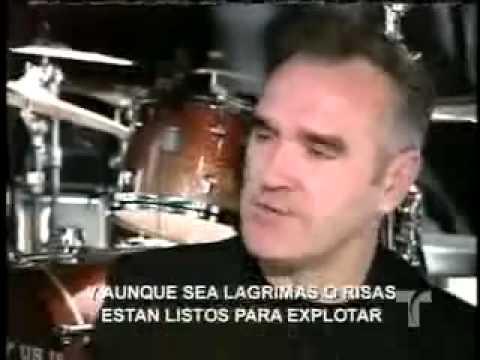 Morrissey, Latino Fan Base News Clip