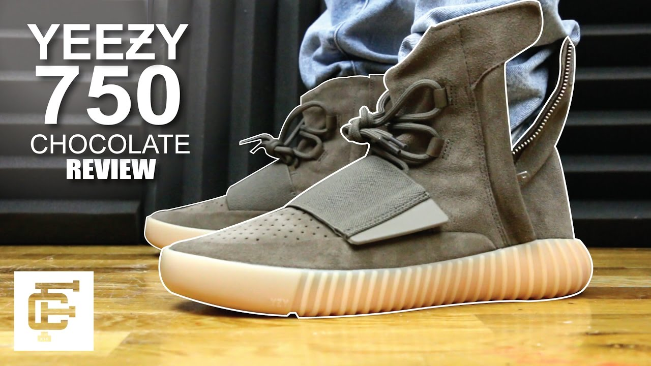 a42fafc908f YEEZY BOOST 750 CHOCOLATE BROWN GUM REVIEW - YouTube