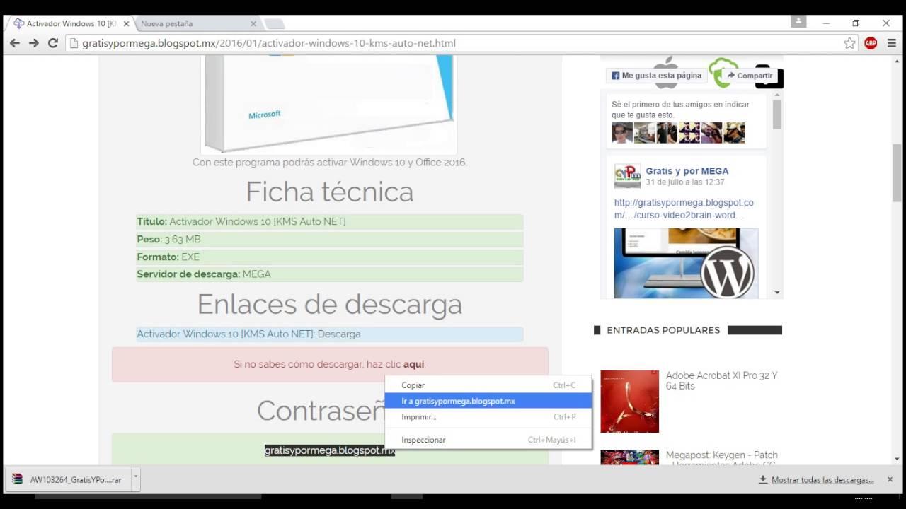 descargar office 2013 activado windows 10