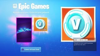 Fortnite REALLY just gave us FREE VBucks...