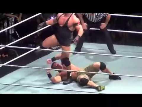 WWE Raw house show in Shanghai: John Cena vs Ryback (full match)