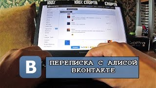 Переписка с девушкой ВКонтакте. Алиса