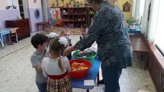"""Открытое занятие на конкурс """"Воспитатель года-2018"""""""