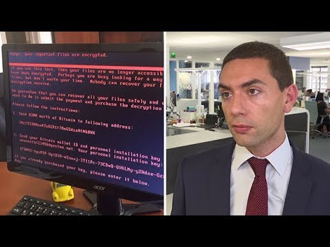 Petya cyber attack: Ransomware spreads across Europe