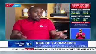 Rise of E-commerce: High traffic towards online platforms as many enterprises move online