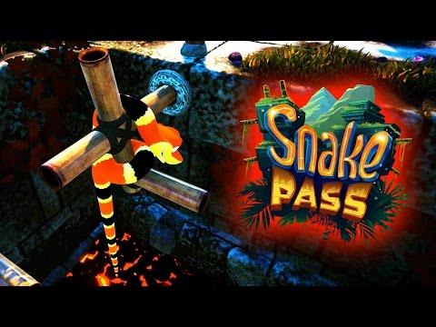 Fire World! - Snake Pass Gameplay - Snake Pass Part 3